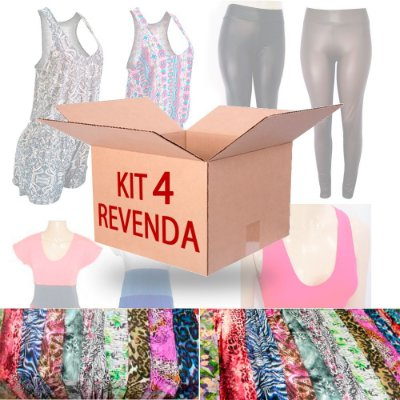 Kit Revenda 4 Moda Feminina 12 Peças