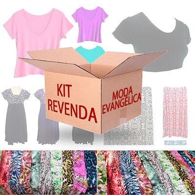 Kit Revenda Moda Evangélica Feminina 12 Peças