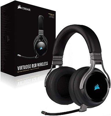 Headset Corsair Virtuoso RGB wireless Carbon