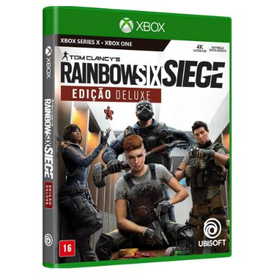 Tom Clancy's Rainbow Six Siege Edição Deluxe Xbox Midia Fisica