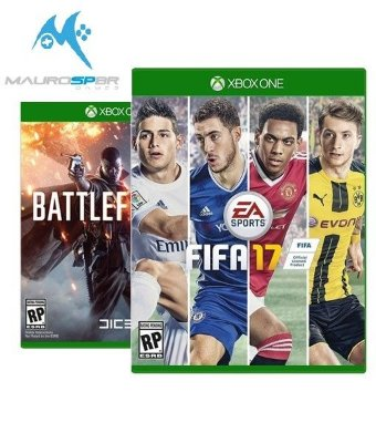 Fifa 17 + Battlefield 1 - Xbox One