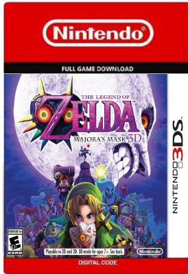The Legend of Zelda Majora's Mask 3D Nintendo 3DS