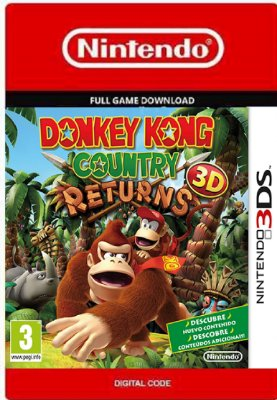 Donkey Kong Country Returns 3D Nintendo 3DS