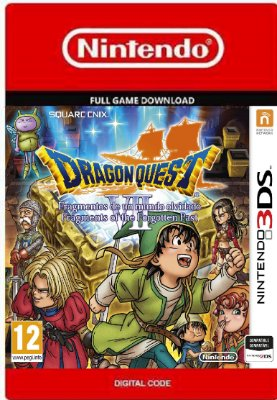 Dragon Quest VII Fragments of the Forgotten Past Nintendo 3DS
