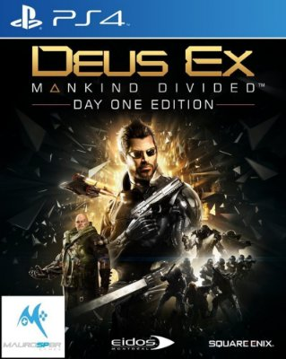 Deus Ex Mankind Divided PS4 MIDIA FISICA