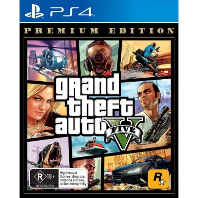 GTA V Premium Edition PS4 MIDIA FISICA