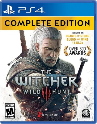 The Witcher 3 Wild Hunt Complete Edition PS4 Mídia Física