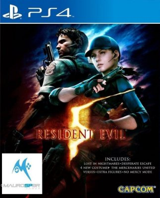 Resident Evil 5 Ps4 Mídia Física