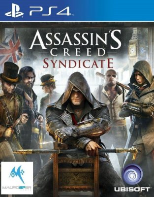 Assassins Creed Syndicate PS4 Mídia Física