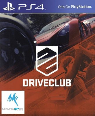 DriveClub PS4 Ingles Mídia Física