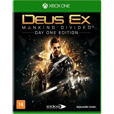 Deus Ex Mankind Divided Xbox One MÍDIA FISICA