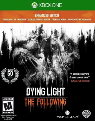 Dying Light: The Following - Edição Aprimorada - Xbox One MÍDIA FISICA