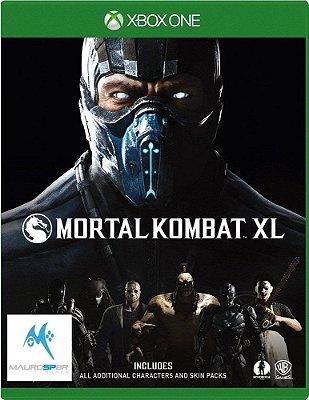 Mortal Kombat XL Xbox One MÍDIA FISICA