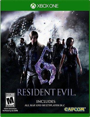 Resident Evil 6 Xbox One MÍDIA FISICA