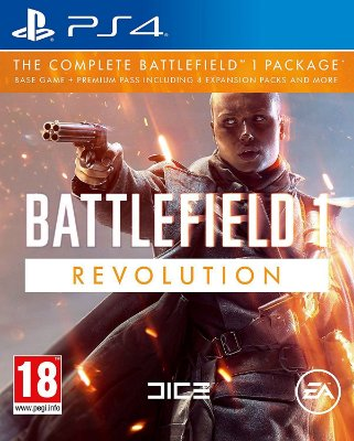 Battlefield 1Revolution Inglês  - PS4 Midia Fisica