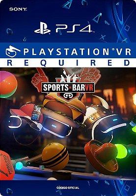 Sports Bar Vr - Playstation Vr