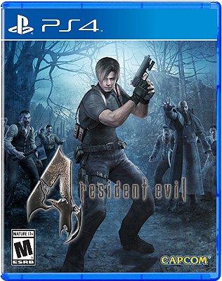 Resident Evil 4 PS4 MIDIA FISICA