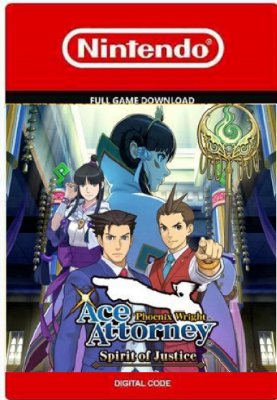 Phoenix Wright Ace Attorney Spirit of Justice Nintendo 3DS