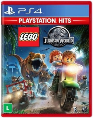 LEGO Jurassic World PS4 Midia fisica