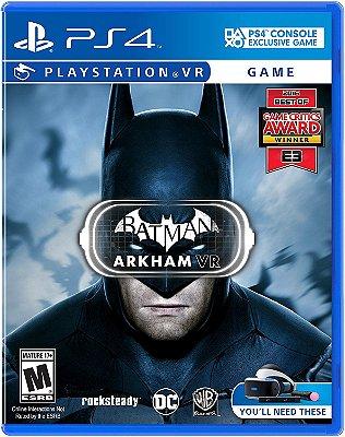 Batman: Arkham VR - PlayStation VR - MIDIA FISICA