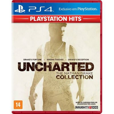 UncharteD The Nathan Drake Collection Ps4 MIDIA FISICA