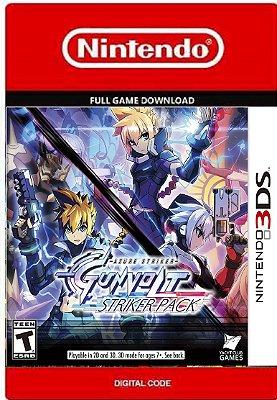 Azure Stiker Gunvolt 2 Nintendo 3DS
