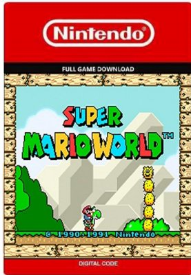 Super Mario World Nintendo NEW 3ds