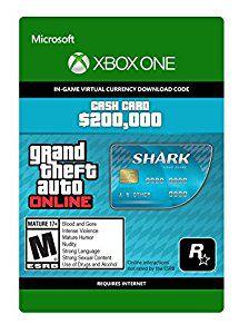 GTA V  Shark Cash Card - Xbox One