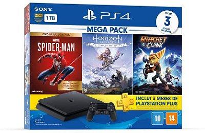 Console Playstation 4 Slim 1tb Mega Pack 15