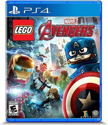 Lego Marvels Vingadores Ps4 MIDIA FISICA