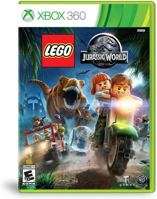 Lego Jurassic World Xbox 360 MIDIA FISICA