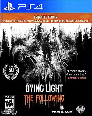 Dying Light The Following Edição Aprimorada Ps4 MIDIA FISICA