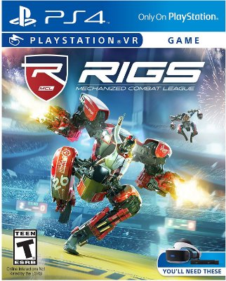 Rigs Mechanized Combat League PlayStation VR MIDIA FISICA