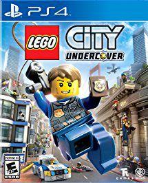 LEGO City Undercover - PS4 - MIDIA FISICA