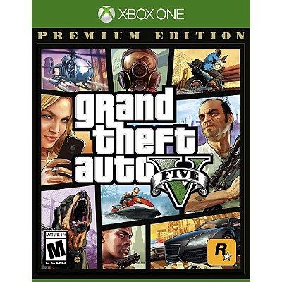 GTA V Xbox One MIDIA FISICA