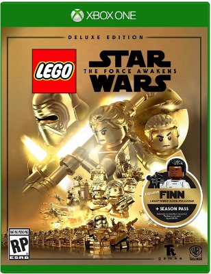 Lego Star Wars: Force Awakens Deluxe Edition - Xbox  -  MIDIA FISICA