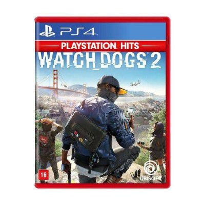 Watch Dogs 2 PS4 MIDIA FISICA