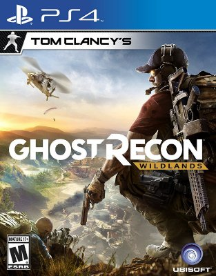 Tom Clancys Ghost Recon Wildlands PS4 MIDIA FISICA