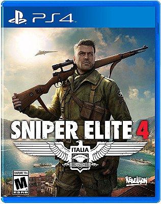 Sniper Elite 4 PS4 MIDIA FISICA
