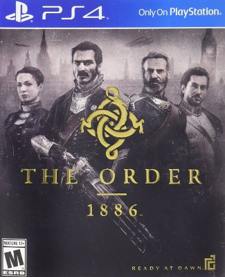 The Order 1886 - PS4 - MIDIA FISICA
