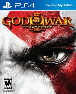 God Of War 3 Remasterizado Ps4 MIDIA FISICA