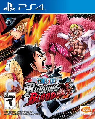 One Piece: Burning Blood - PS4 -MIDIA FISICA