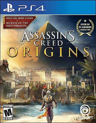 Assassins Creed Origins PS4 MIDIA FISICA