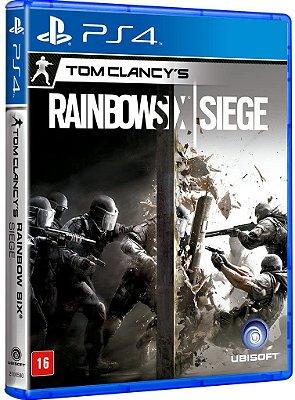 Tom Clancys Rainbow Six Siege Ps4 MIDIA FISICA