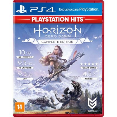 Horizon Zero Dawn Complete Edition Ps4 MIDIA FISICA