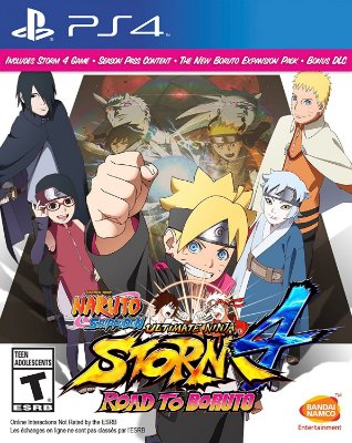 Naruto Shippuden Ultimate Ninja Storm 4 Road to Boruto Ps4 MIDIA FISICA
