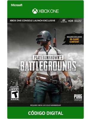 Playerunknowns Battlegrounds PUBG Xbox one
