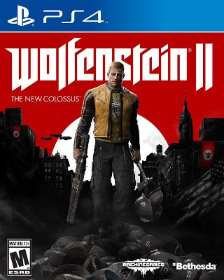 Wolfenstein 2 The New Colossus Ps4 MIDIA FISICA