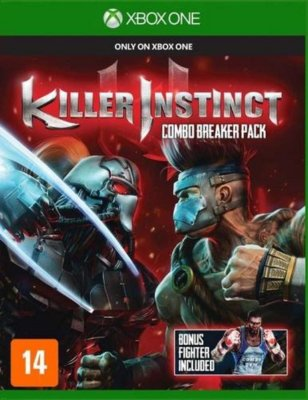 Killer Instinct Xbox One MIDIA FISICA