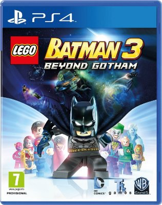 Lego Batman 3 Beyond Gotham - Ps4 MIDIA FISICA